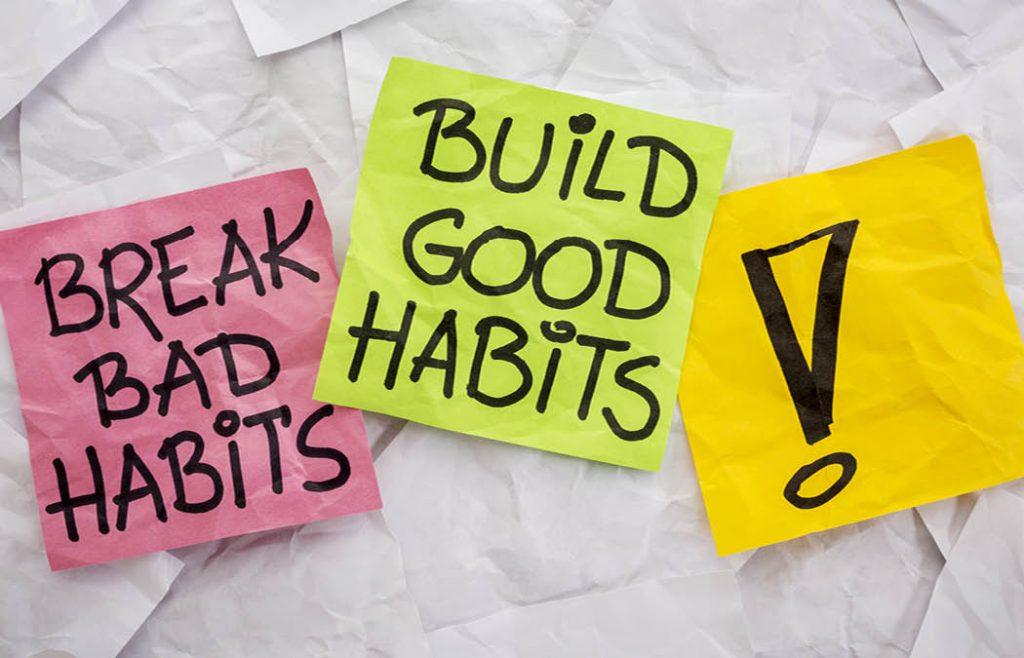 نکاتی برای ساختن عادات سالم