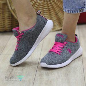 کفش زنانه ورزشی پولو (US Polo Assn Us Polo Women's Grey)